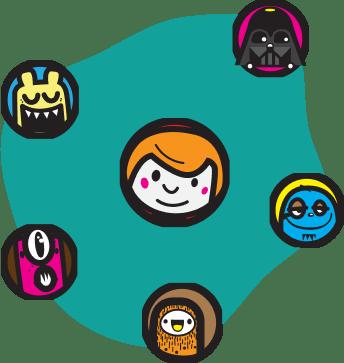 Truqu communication circle
